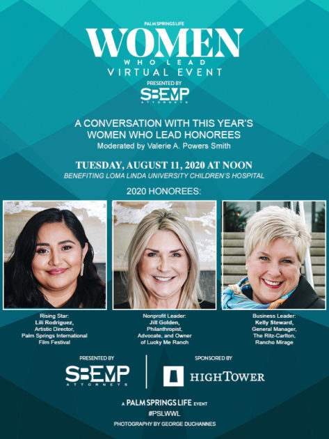 PALM SPRINGS LIFE WOMEN WHO LEAD VIRTUAL EVENT