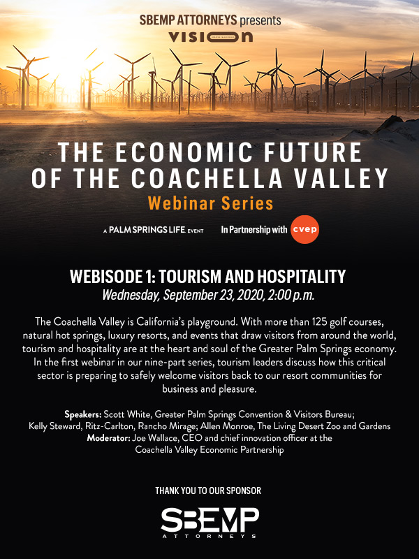 The Economic Future of the Coachella Valley Webinar Series